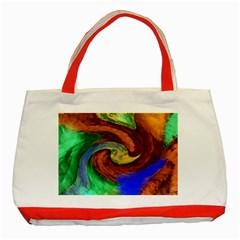 Culture Mix Red Tote Bag
