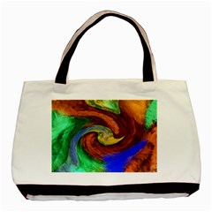 Culture Mix Twin Sided Black Tote Bag