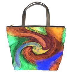 Culture Mix Bucket Handbag