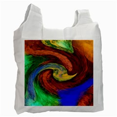 Culture Mix Single-sided Reusable Shopping Bag