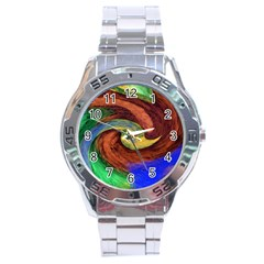 Culture Mix Stainless Steel Analogue Watch (Round)