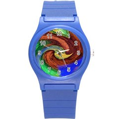 Culture Mix Round Plastic Sport Watch Small