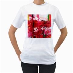 Decisions White Womens  T-shirt