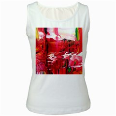 Decisions White Womens  Tank Top
