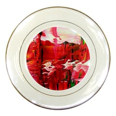 Decisions Porcelain Display Plate