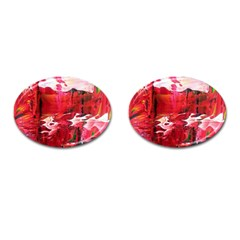 Decisions Oval Cuff Links