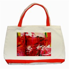 Decisions Red Tote Bag