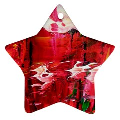 Decisions Twin-sided Ceramic Ornament (Star)