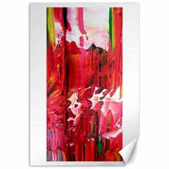 Decisions 24  x 36  Unframed Canvas Print