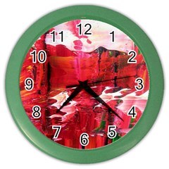 Decisions Colored Wall Clock