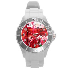 Decisions Round Plastic Sport Watch Large