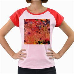 Diversity Colored Cap Sleeve Raglan Womens  T Shirt