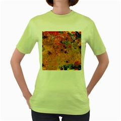Diversity Green Womens  T-shirt