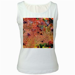 Diversity White Womens  Tank Top
