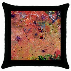 Diversity Black Throw Pillow Case