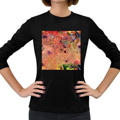 Diversity Dark Colored Long Sleeve Womens'' T Shirt