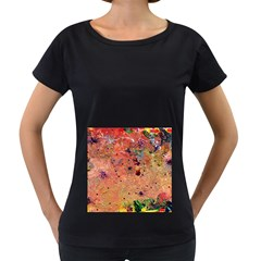 Diversity Black Oversized Womens'' T-shirt