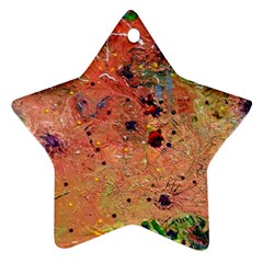 Diversity Twin Sided Ceramic Ornament (star)