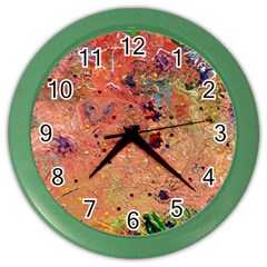 Diversity Colored Wall Clock
