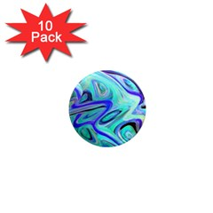 Easy Listening 10 Pack Mini Magnet (Round)
