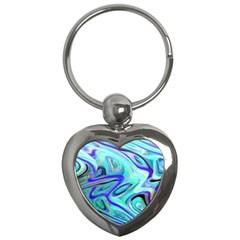 Easy Listening Key Chain (heart)