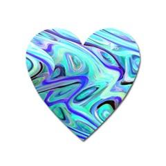 Easy Listening Large Sticker Magnet (heart)