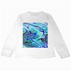 Easy Listening White Long Sleeve Kids'' T-shirt