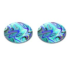 Easy Listening Oval Cuff Links
