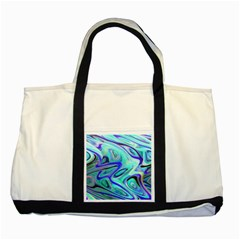 Easy Listening Two Toned Tote Bag