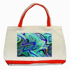 Easy Listening Red Tote Bag