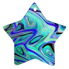 Easy Listening Twin-sided Ceramic Ornament (Star)