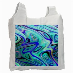 Easy Listening Twin Sided Reusable Shopping Bag