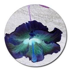 Exotic Hybiscus   8  Mouse Pad (Round)