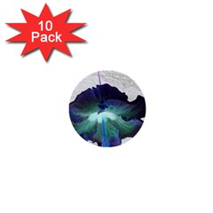 Exotic Hybiscus   10 Pack Mini Button (round)