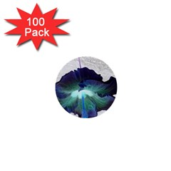 Exotic Hybiscus   100 Pack Mini Button (Round)