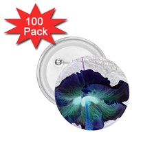 Exotic Hybiscus   100 Pack Small Button (Round)