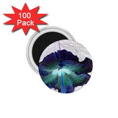 Exotic Hybiscus   100 Pack Small Magnet (Round)