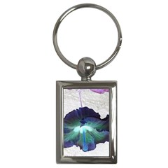 Exotic Hybiscus   Key Chain (Rectangle)