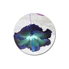 Exotic Hybiscus   Large Sticker Magnet (Round)