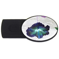 Exotic Hybiscus   1Gb USB Flash Drive (Oval)