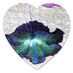 Exotic Hybiscus   Jigsaw Puzzle (Heart)