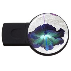 Exotic Hybiscus   4Gb USB Flash Drive (Round)