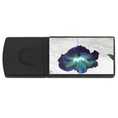Exotic Hybiscus   4gb Usb Flash Drive (rectangle)