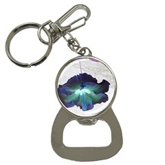 Exotic Hybiscus   Key Chain with Bottle Opener