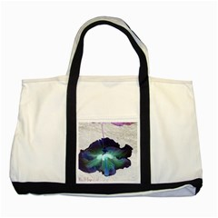 Exotic Hybiscus   Two Toned Tote Bag