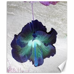Exotic Hybiscus   8  x 10  Unframed Canvas Print
