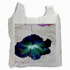 Exotic Hybiscus   Single Sided Reusable Shopping Bag