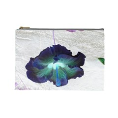 Exotic Hybiscus   Large Makeup Purse