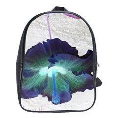 Exotic Hybiscus   Large School Backpack