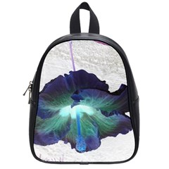 Exotic Hybiscus   Small School Backpack